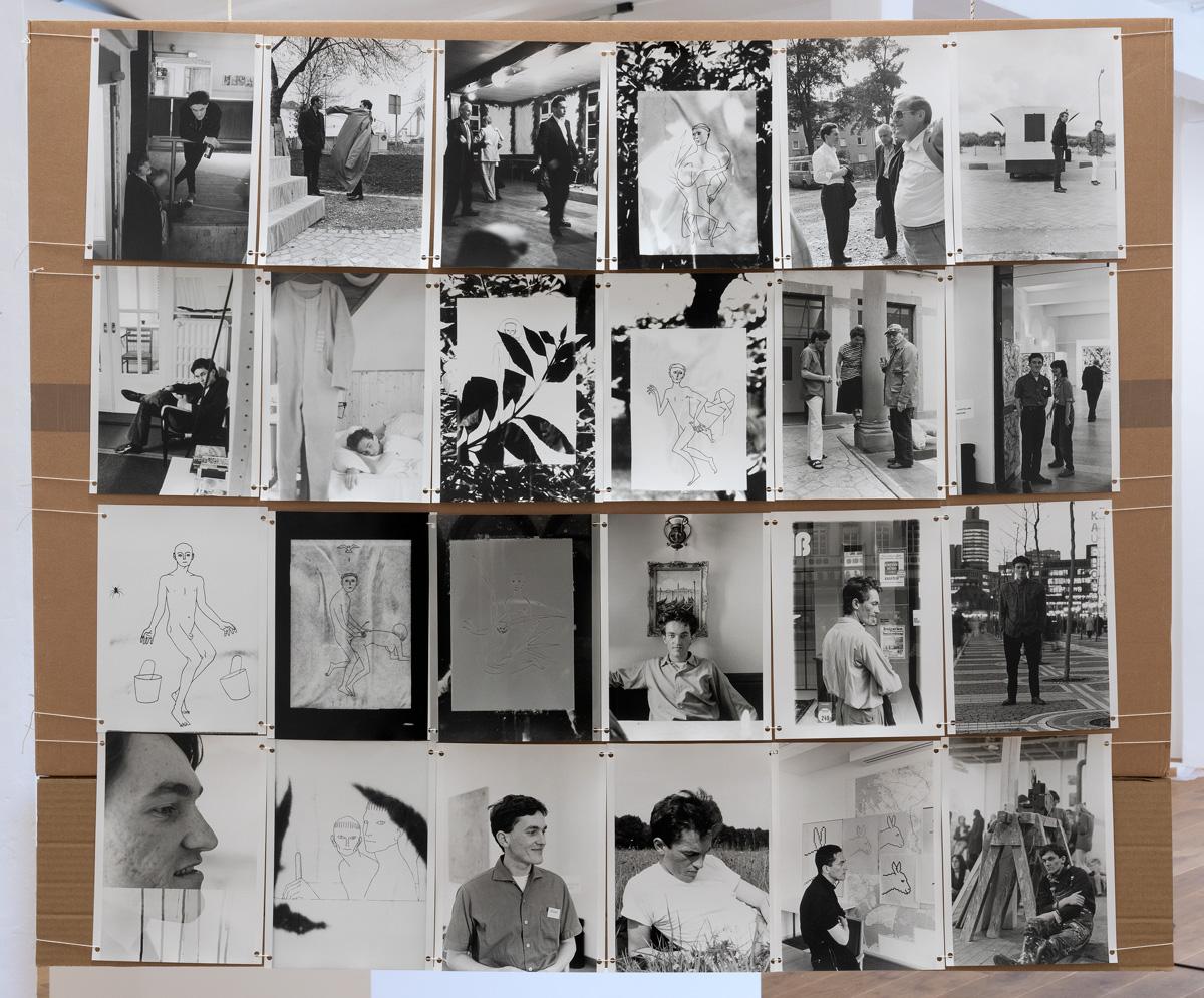 Gerald Domenig Untitled photo installation 98 x 119 cm back